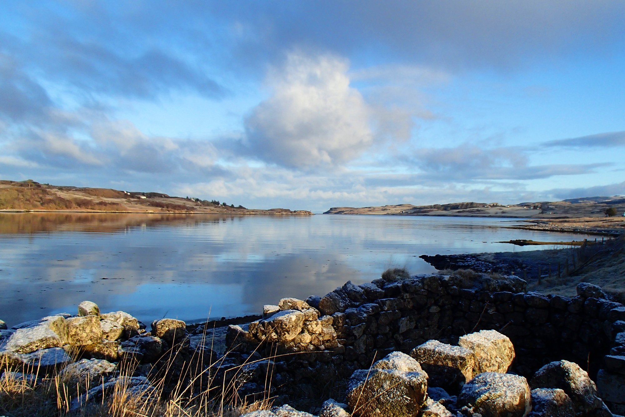View down the Loch from Cuan Beag